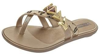 grendha Glamour Thong Womens Flip Flops / Sandals - Leopard - SIZE US