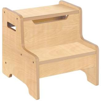 Guidecraft Expressions Step Stool - Natural