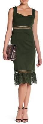 Romeo & Juliet Couture Sleeveless Midi Dress