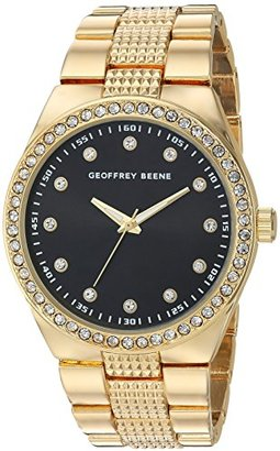 Geoffrey Beene Men 's Quartz Metal and Alloy Dress Watch , Color : gold-toned (モデル: gb8118gd )