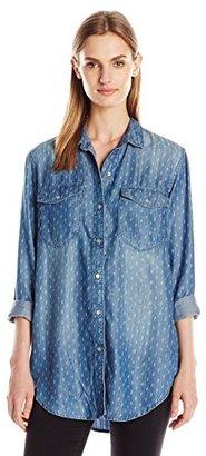 Calvin Klein Jeans Women's Boyfriend Shirt $79.50 thestylecure.com