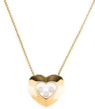 Chopard Happy Diamonds Heart Pendant Necklace