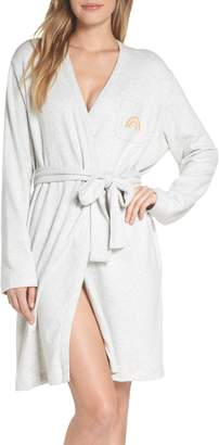 Madewell Rainbow Embroidered Robe