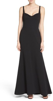 Women's Vera Wang Body-Con Gown $278 thestylecure.com