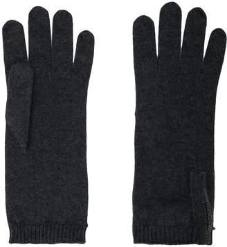 Brunello Cucinelli knitted gloves