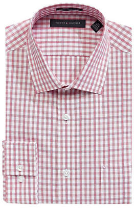 Tommy Hilfiger Slim Fit Gingham Dobby Dress Shirt