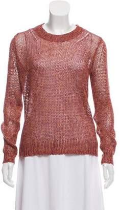 Theory Linen Crew Neck Sweater