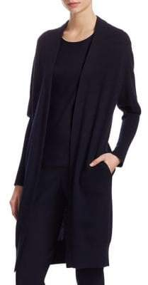 Akris Cashmere Long Knit Cardigan
