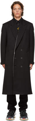Givenchy Black Double-Breasted Coat