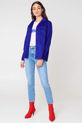 NA-KD Na Kd Front Pocket Short Jacket