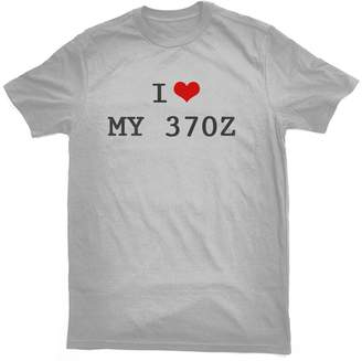 Bertie I LOVE MY 370 Z T-SHIRT, grey, by Bertie, free worldwide shipping