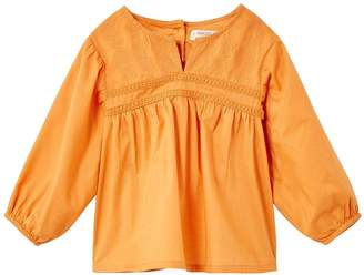 MANGO Baby Girls Embroidered Blouse