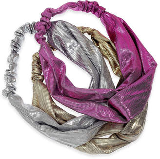 INC International Concepts I.n.c. 3-Pc. Metallic Twisted Headbands