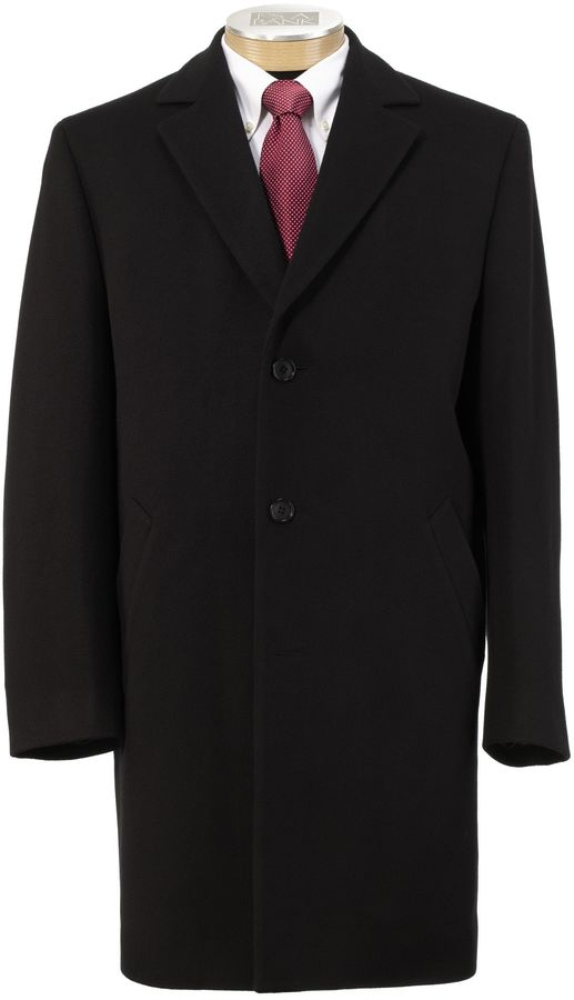 Jos. A. Bank Imperial Blend 3/4 Length Topcoat