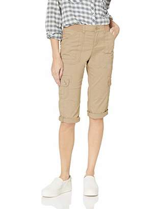 Lee Women's Flex-to-Go Relaxed Fit Utility Capri Pant