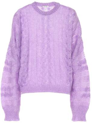 Miu Miu Mohair and wool-blend sweater