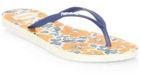 Havaianas Floral Flip Flops