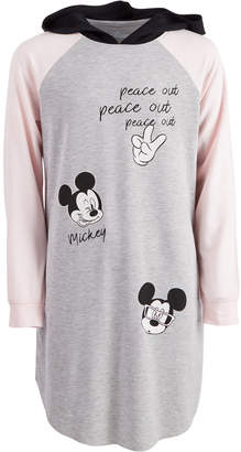 Disney Big Girls Hooded Mickey Mouse Dress