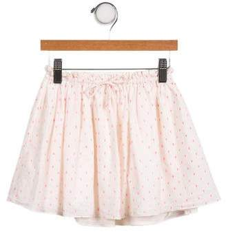 Marie Chantal Girls' Polka Dot Circle Skirt