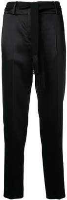 Incotex satin finish tailored trousers