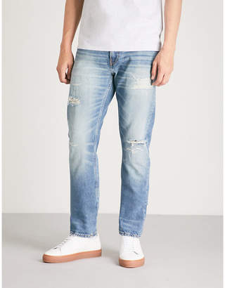 CK Calvin Klein CKJ 025 slim-fit straight jeans