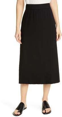 Eileen Fisher Stretch Tencel(R) Lyocell Midi Skirt