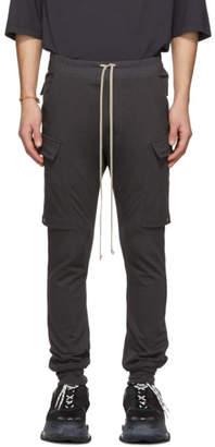 Rick Owens Grey Jog Cargo Pants