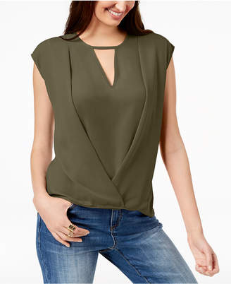 INC International Concepts I.n.c. Keyhole Crossover Top, Created for Macy's