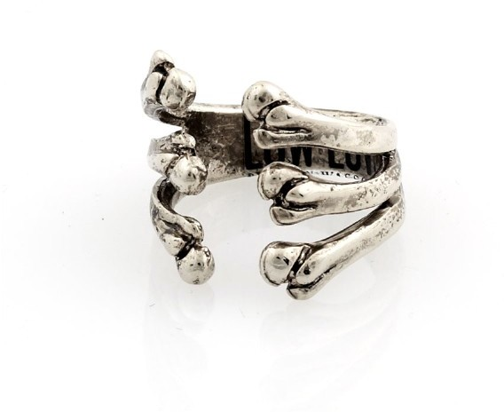 Low Luv by Erin Wasson Bone Cage RIng