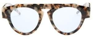 Fiorucci Smoke X Mirrors Smoke x Mirrors x Atomic3 Marble Glam Round Sunglasses