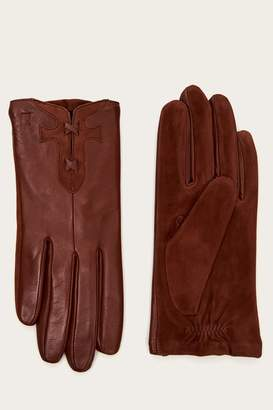 Frye Womens Leather Stitch Glove