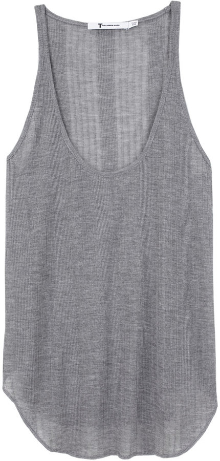 T by Alexander Wang / Variegated Rib Tank