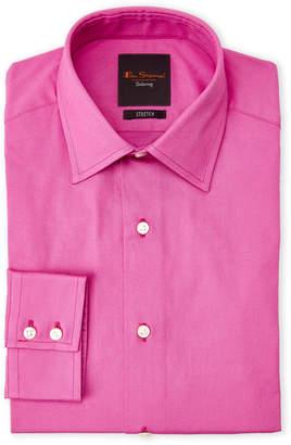 Ben Sherman Berry Stretch Slim Fit Dress Shirt
