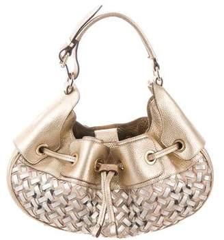 Burberry Whipstitch Mini Warrior Bag