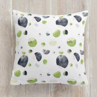 Many Moons Square Pillow