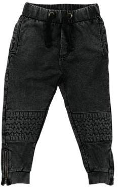 Moto Rockin baby LLC Ankle Zip Jogger Pants (Toddler Boys)