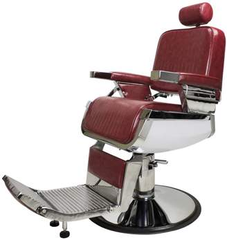 Equipment Berkeley 99999 Lincoln JR Barber Chair Crimson