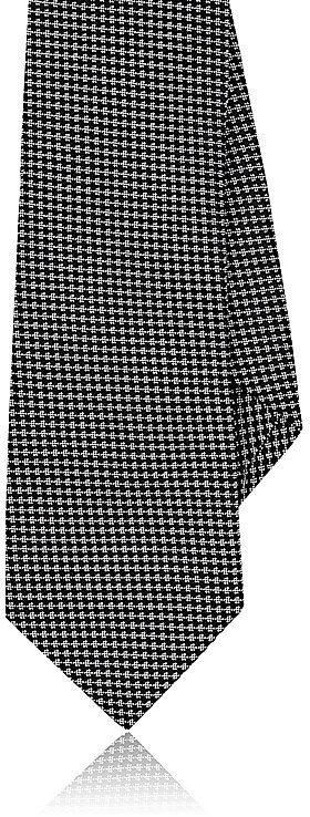 Barneys New YorkBarneys New York Men's Neat-Pattern Silk Necktie