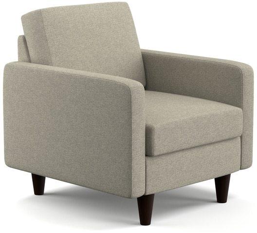 Portfolio Luca Barley Tan Linen SoFast Chair