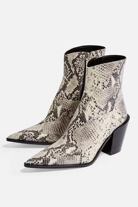Topshop HOWDIE Western Boots