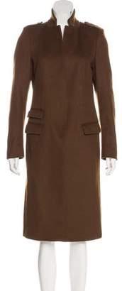 AllSaints Long Wool Coat