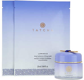 Tatcha A-D Luminous SkinNight Concentrate&MasksAuto-Delivery