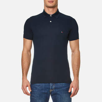 Tommy Hilfiger Men's Contrast Collar Polo Shirt