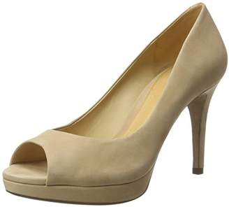 Schutz Women's S2-00660001 Open Toe Heels, Beige Amber Light