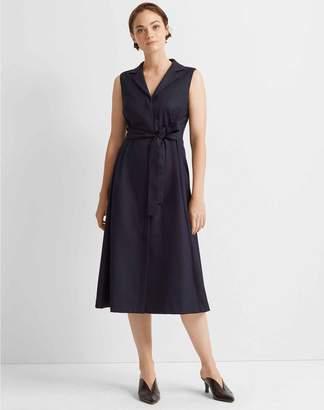 Club Monaco Half Belted Dress