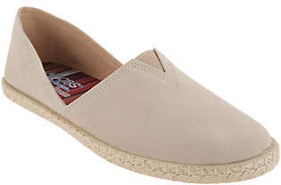 Skechers BOBS Suede Espadrille Slip On Shoes- Day 2 Nite