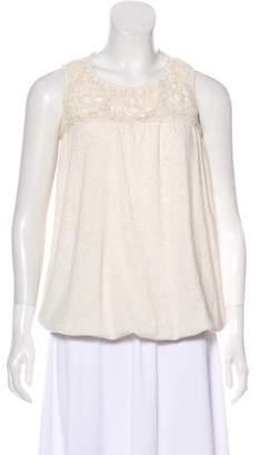 MCM Sleeveless Embellished Top
