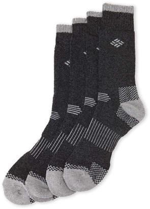 Columbia 4-Pack Mi-Chaussettes Heavy Knit Crew Socks