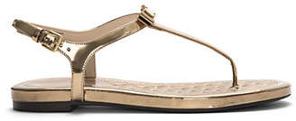 Cole Haan Tali Mini Bow Leather Thong Sandals
