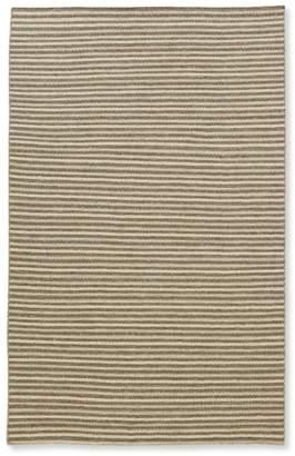 L.L. Bean L.L.Bean Striped Wool Flat-Weave Rug